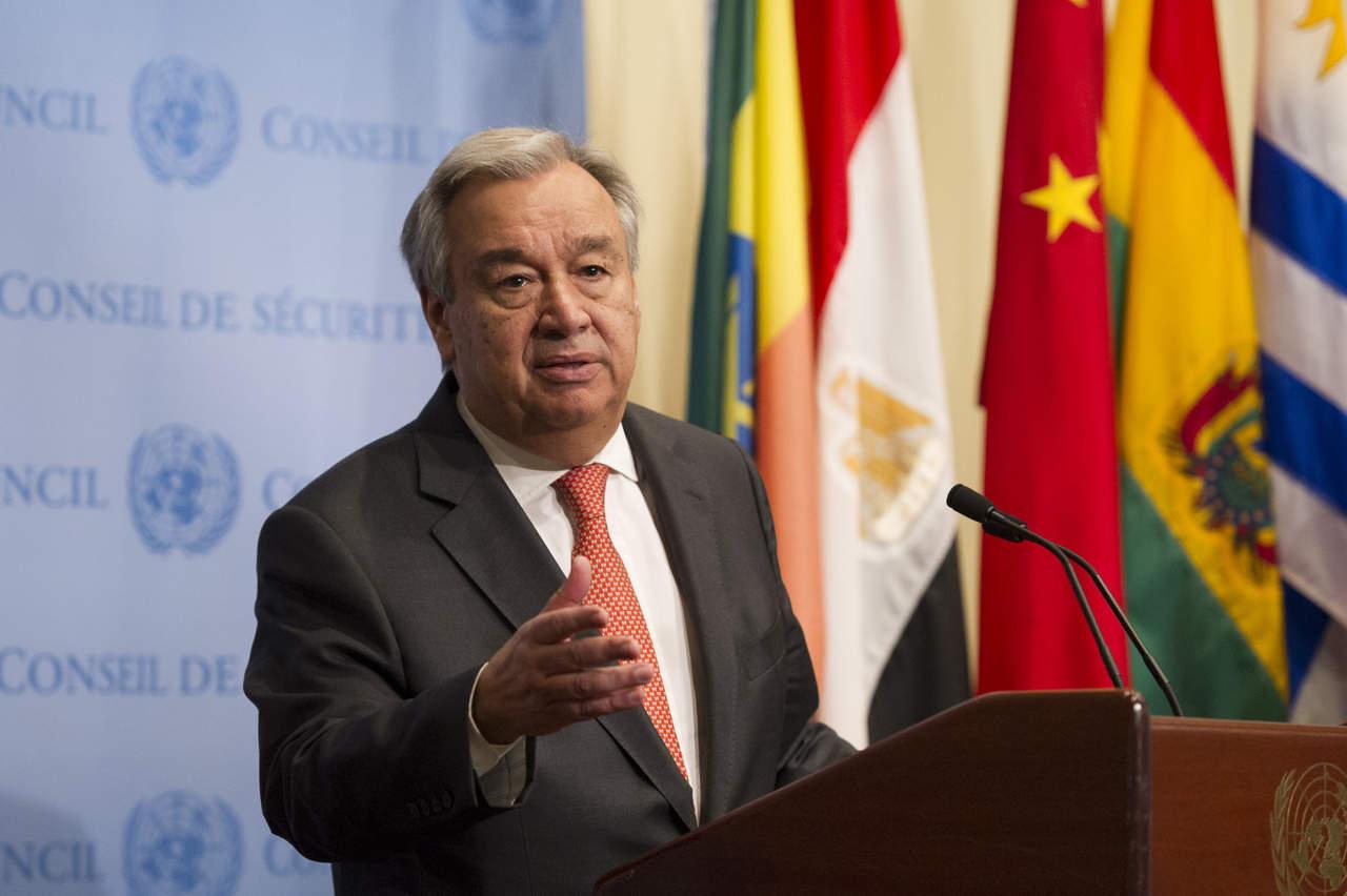 Secretario de la ONU lamenta salida de EU de la Unesco