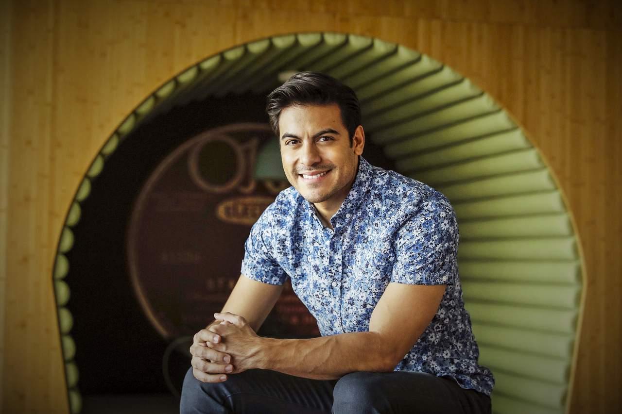 Carlos Rivera, listo para cantar en el Revueltas