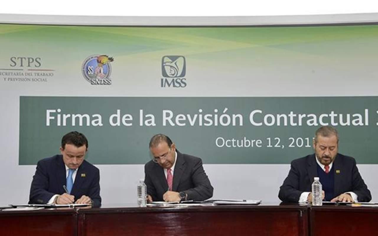 Logra Sindicato del IMSS aumento salarial del 5.15%