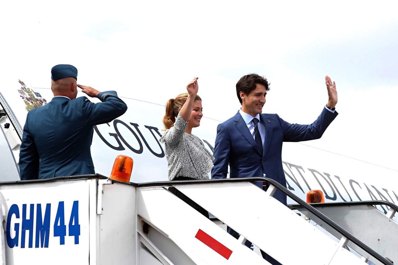 Por Twitter, EPN da bienvenida a Justin Trudeau a México