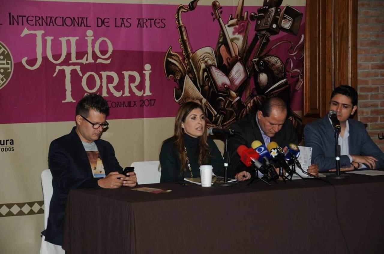 Promocionan festival de arte Julio Torri 2017