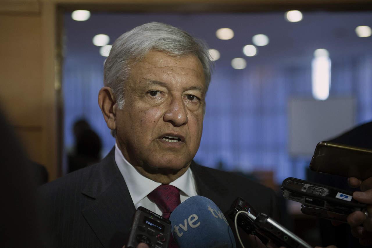 Pide AMLO renegociar el TLCAN después de las elecciones de 2018