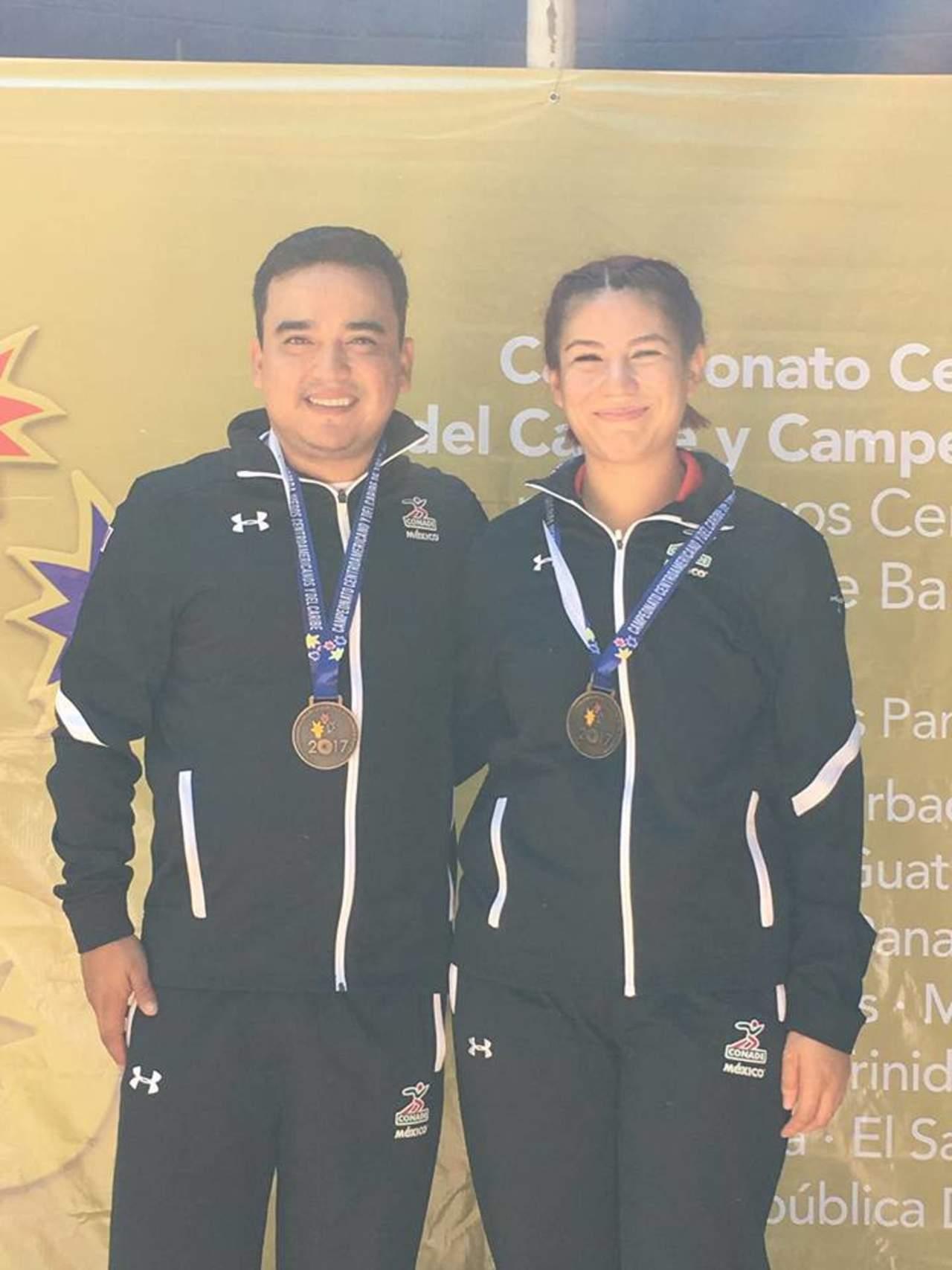 Coahuilense luce en el Centroamericano de Tiro Deportivo