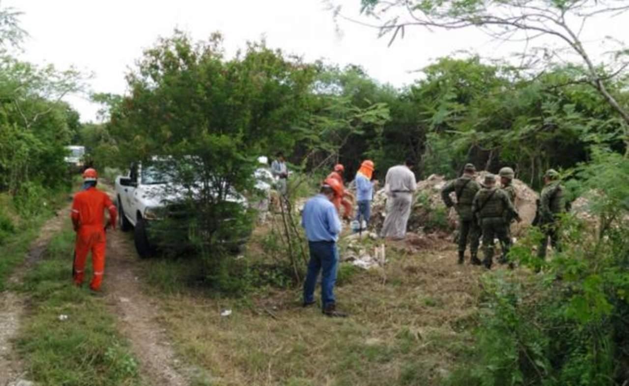 Encuentran toma clandestina de combustible en Yucatán