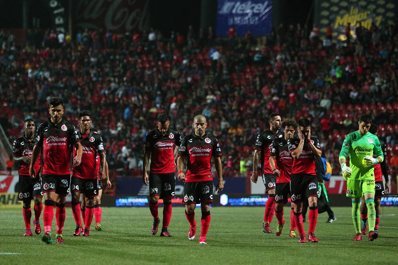 Xolos, por triunfo ante el Veracruz