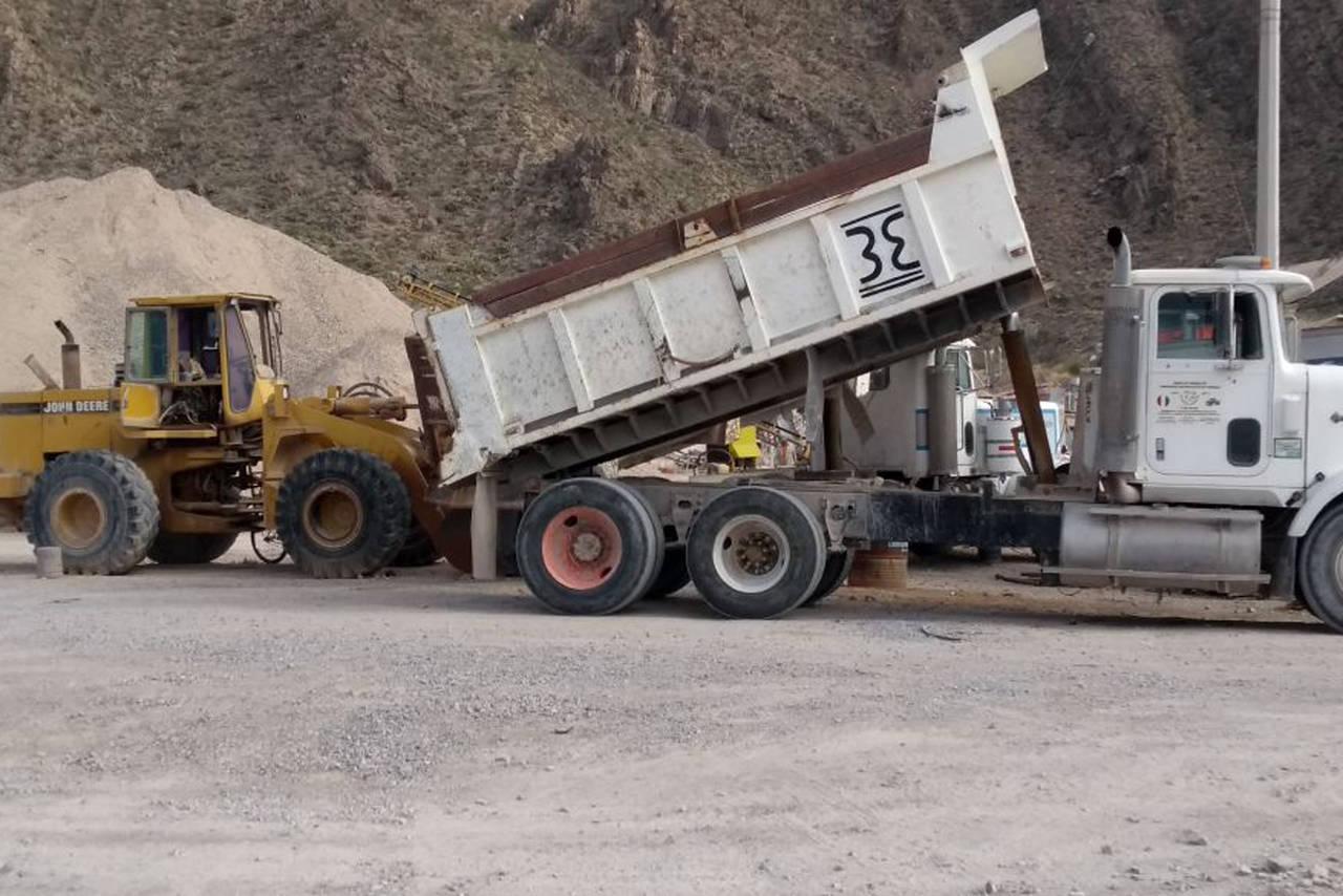 Detectan extracción irregular de piedra