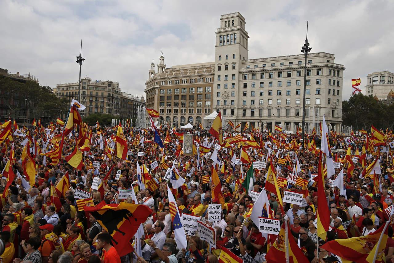 Crisis catalana marca del día de la Hispanidad