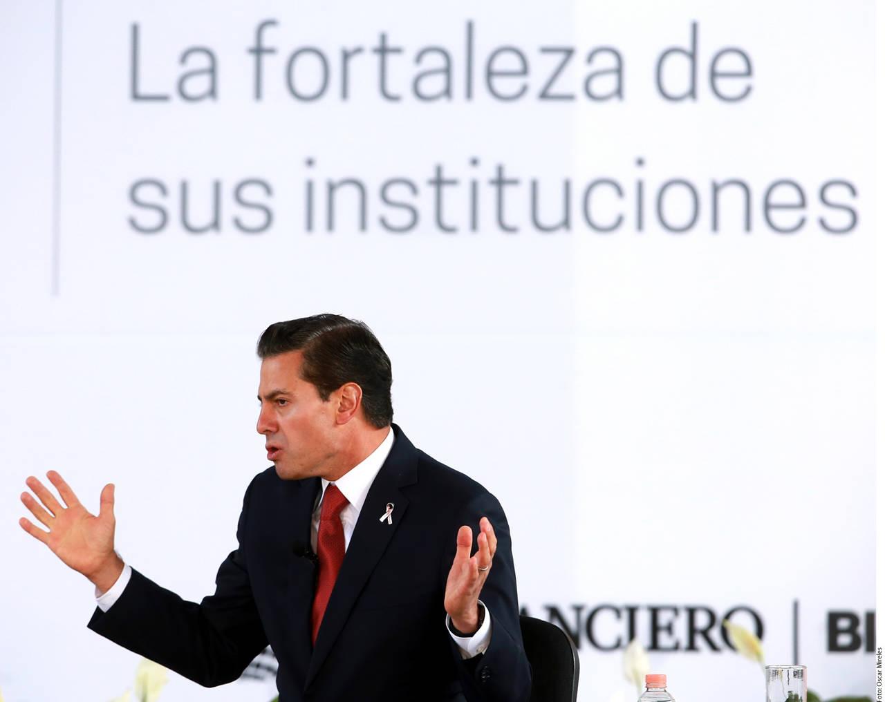 Dice Peña que no todo es corrupción