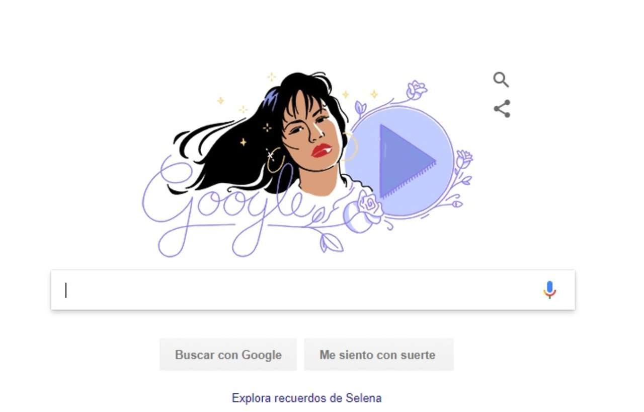 Por qu google dedic hoy un 39 doodle 39 a selena for Espectaculos mexico hoy