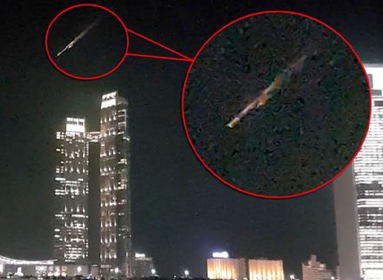 Paso de cohete ruso en Dubái causa desconcierto