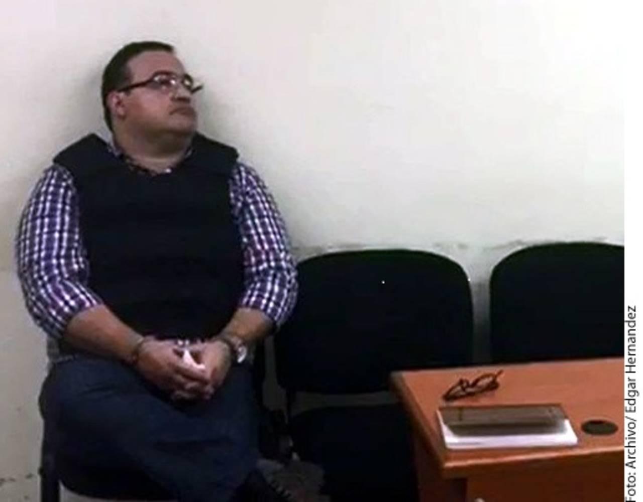 Dejan a Javier Duarte en prisión
