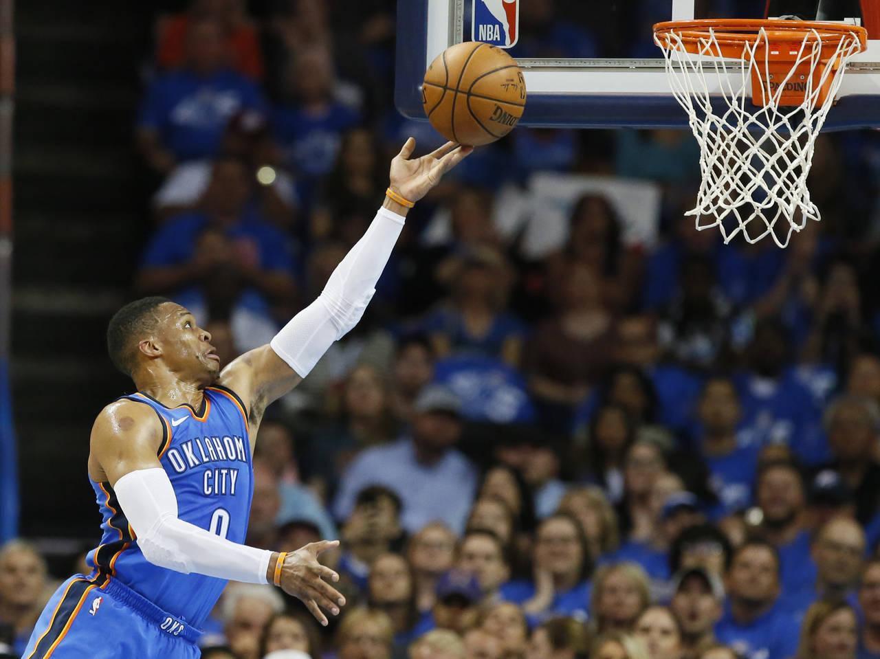 Brilla Westbrook con Oklahoma City