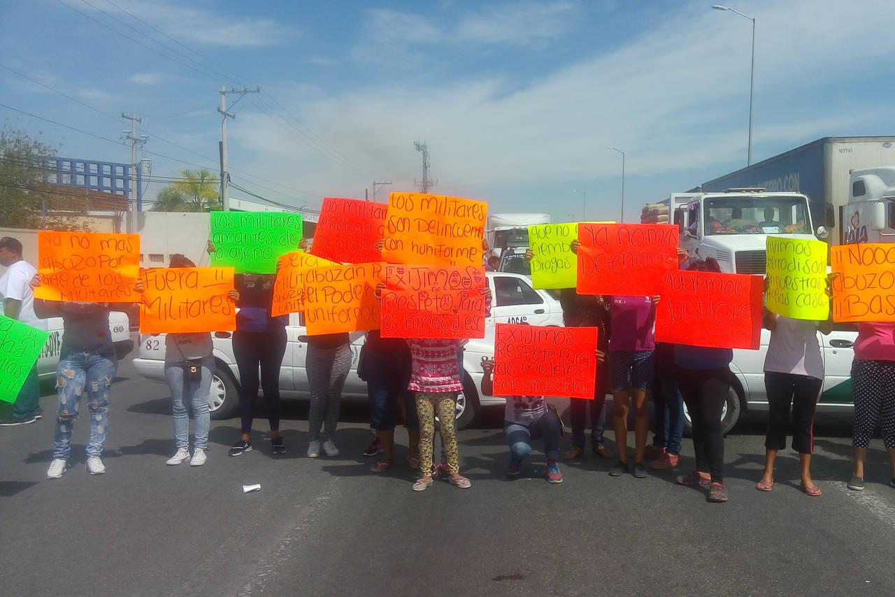 Protestan contra la Policía Militar