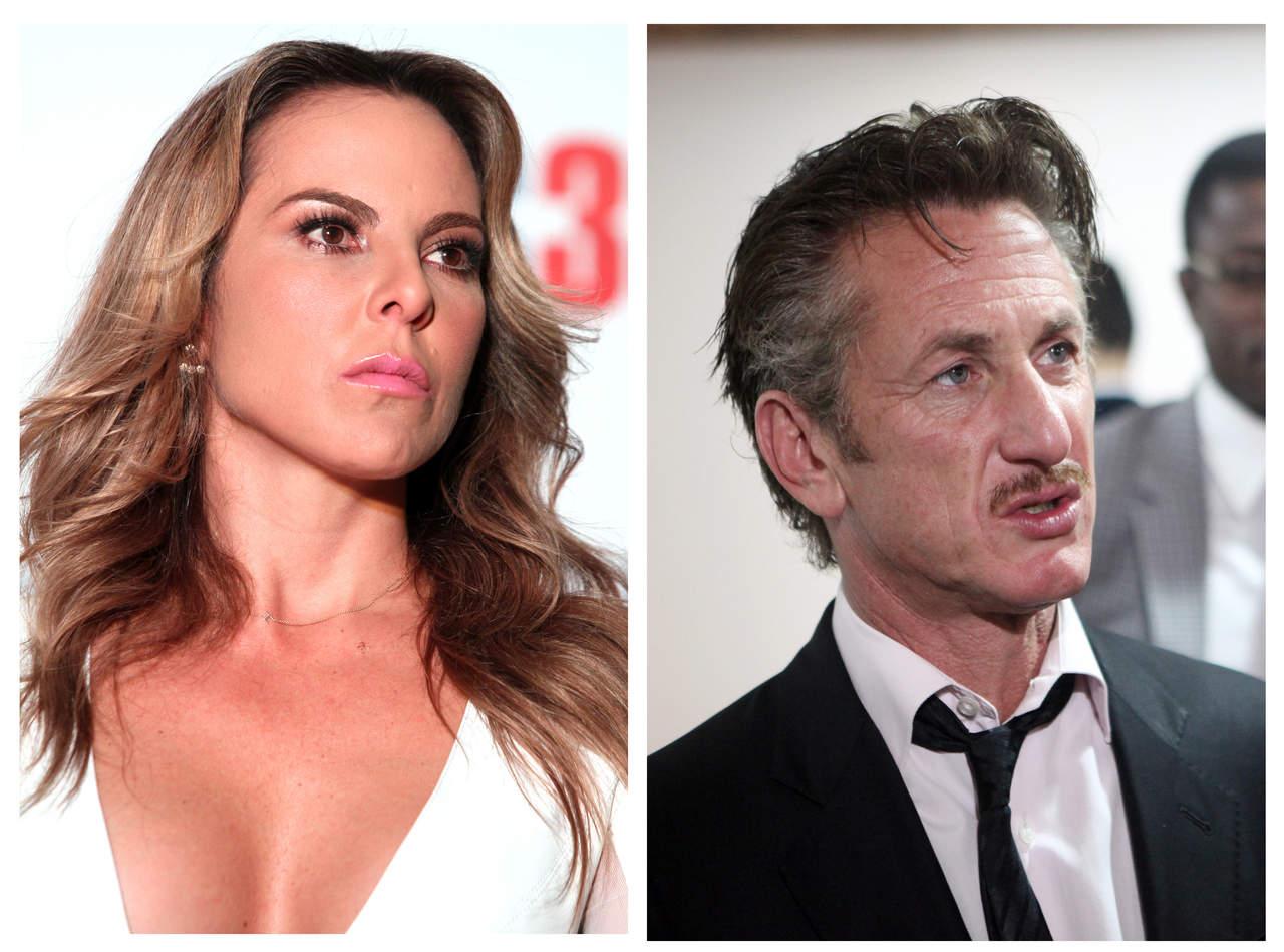 Revela Kate del Castillo que tuvo sexo con Sean Penn
