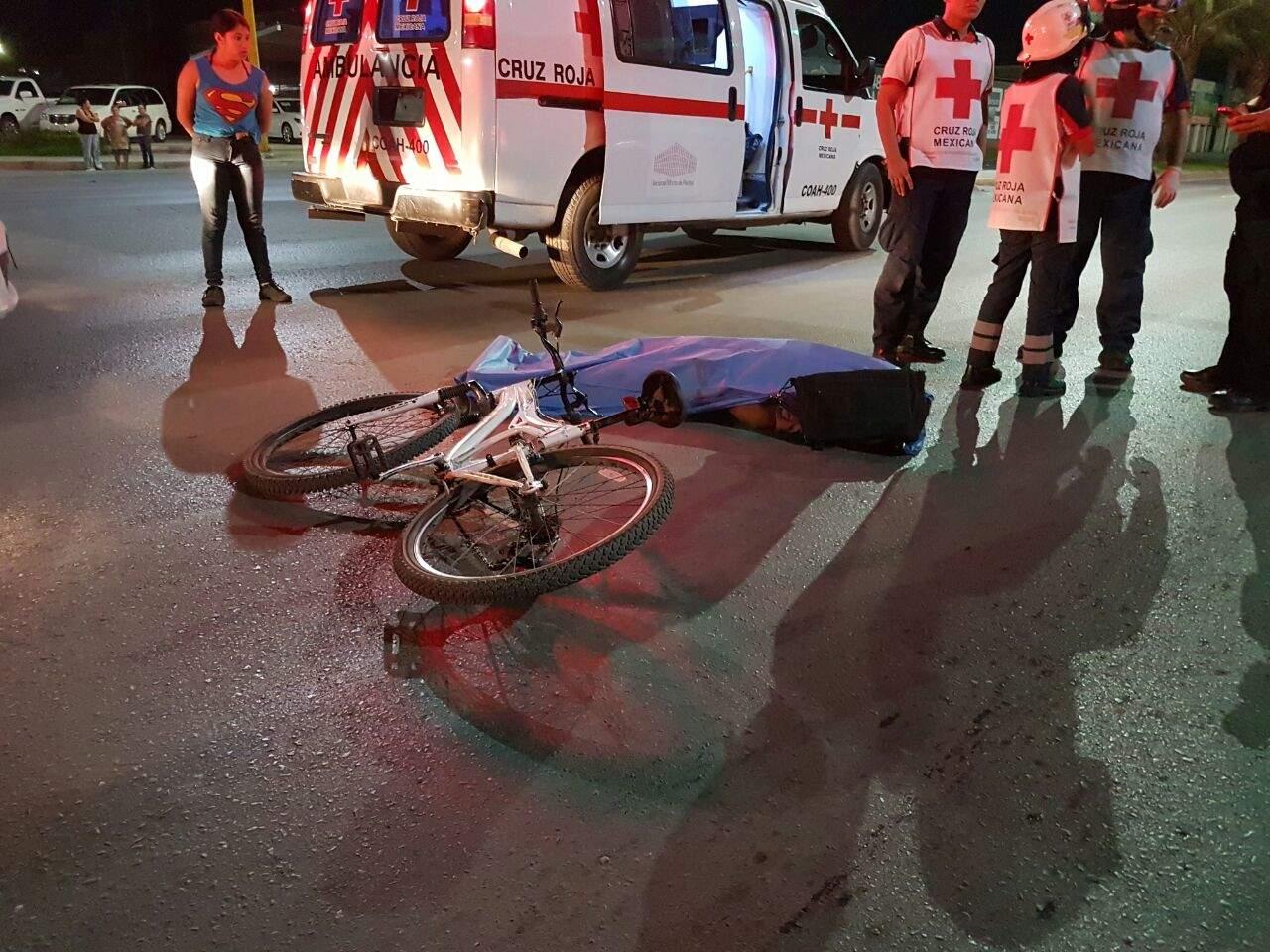 Muere ciclista arrollado en Diagonal Reforma
