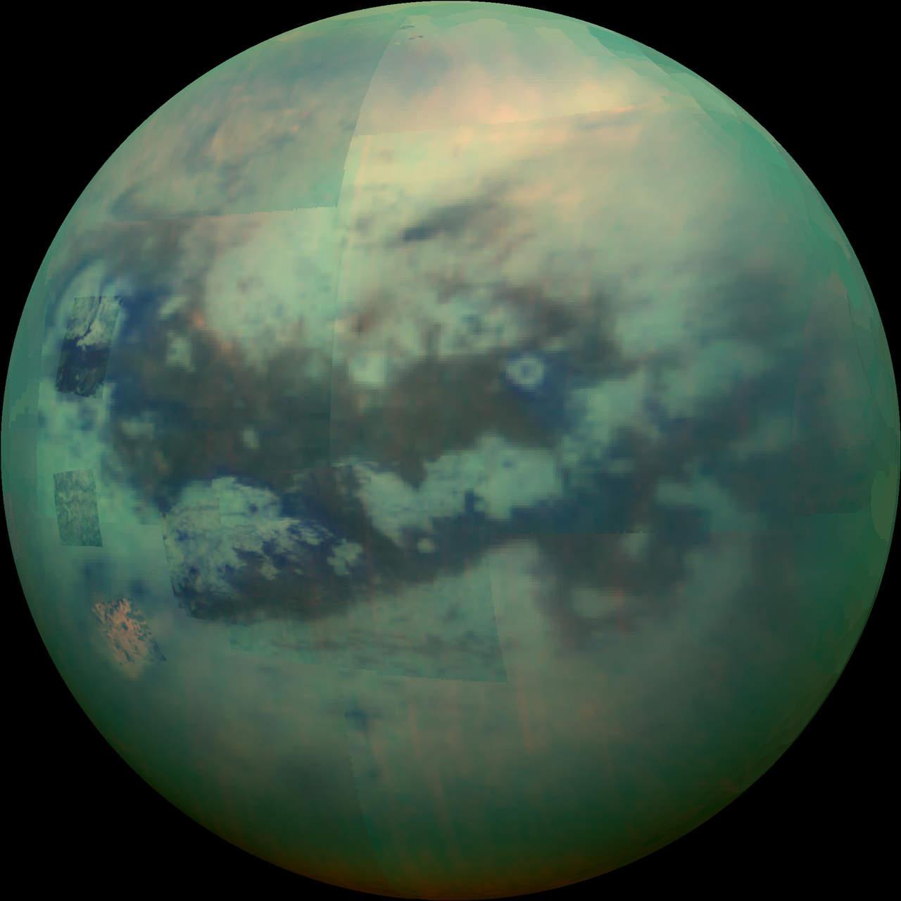 Hallan nube nociva de hielo en luna de Saturno