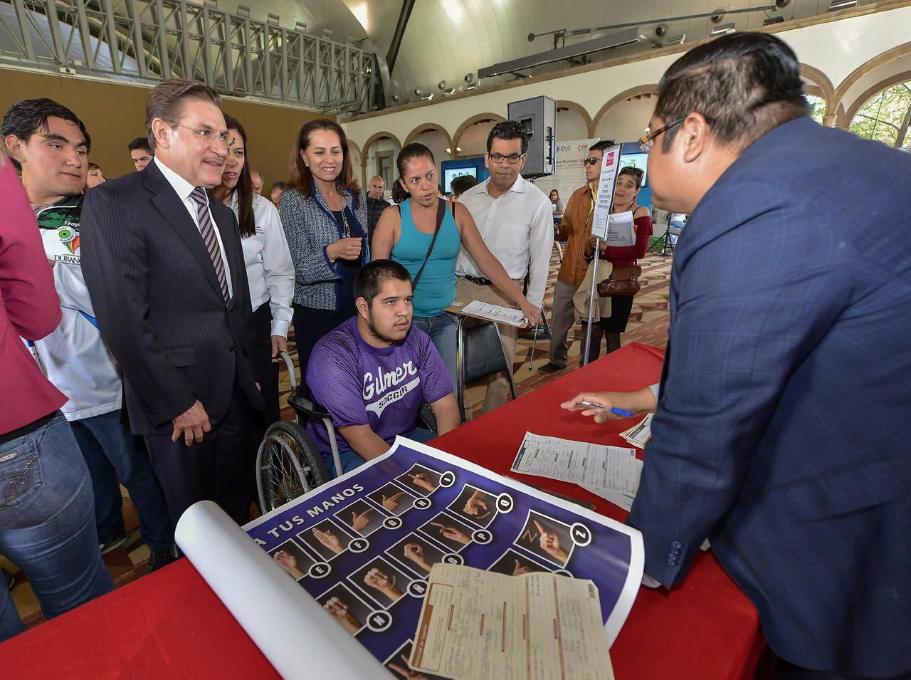 Oferta Durango empleo para discapacitados: AT