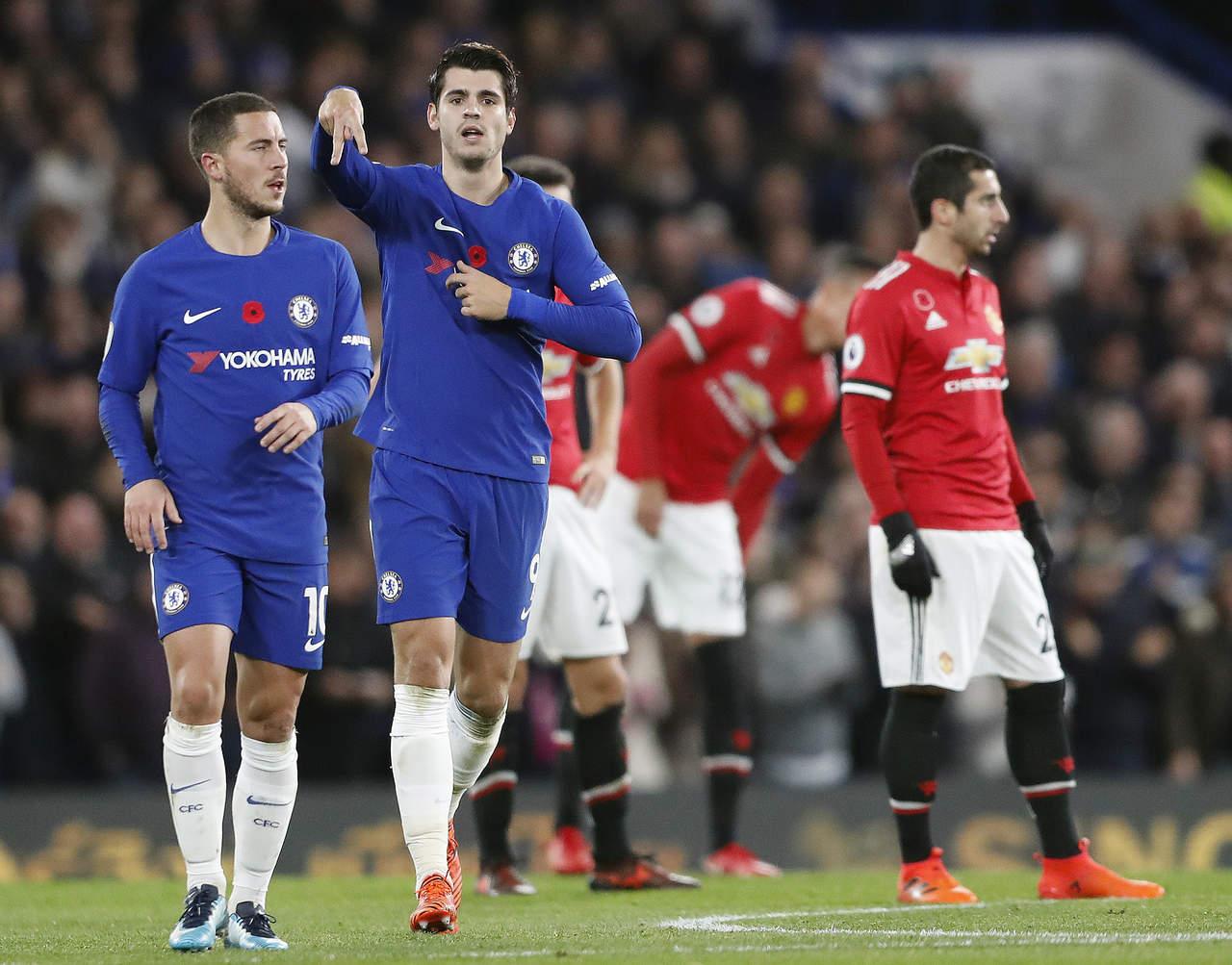 Resultado de imagen para El Chelsea merecidamente venció a Manchester United