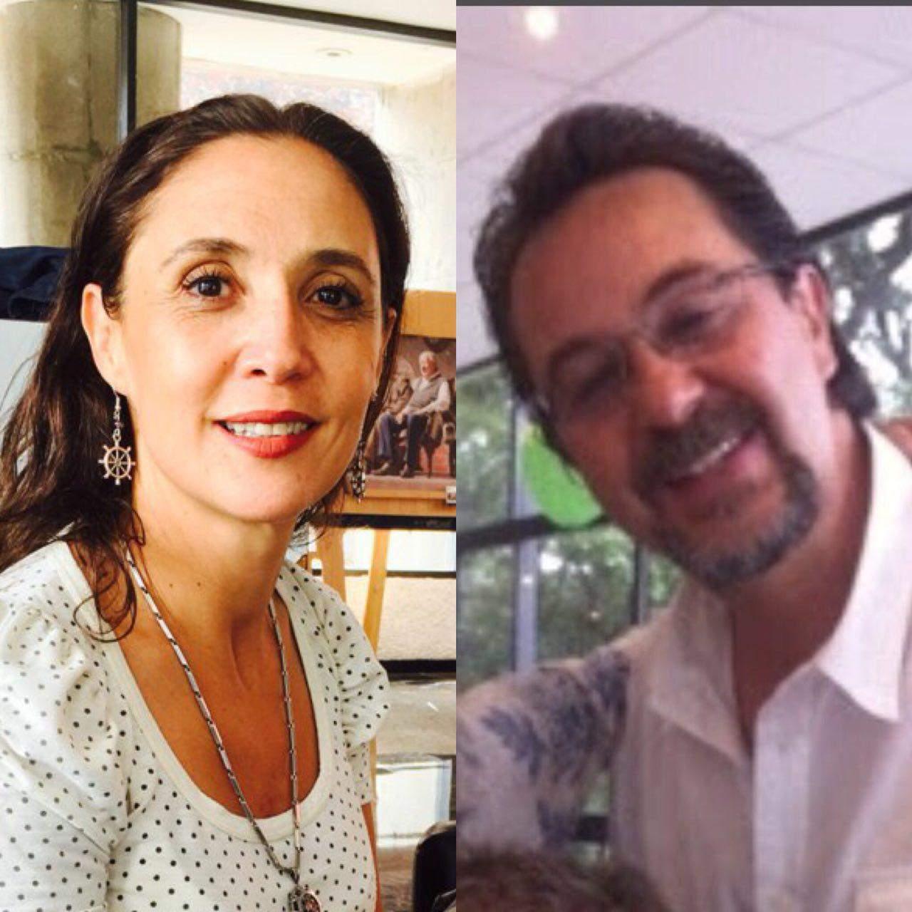 Fallecen Maru Dueñas y Claudio Reyes en accidente