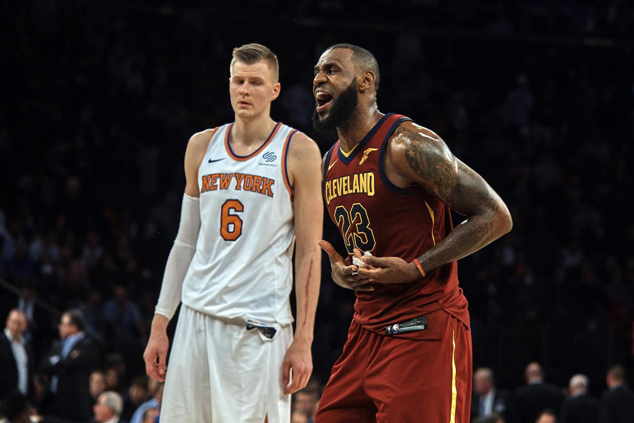 'Cavs' reacciona y derrota a los Knicks