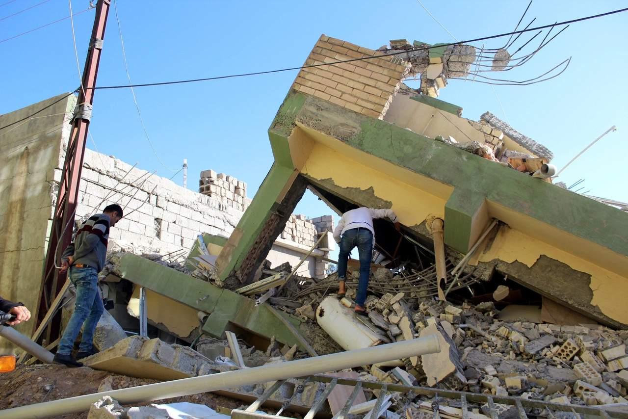 Se elevan a 540 los muertos por terremoto en Irán e Irak
