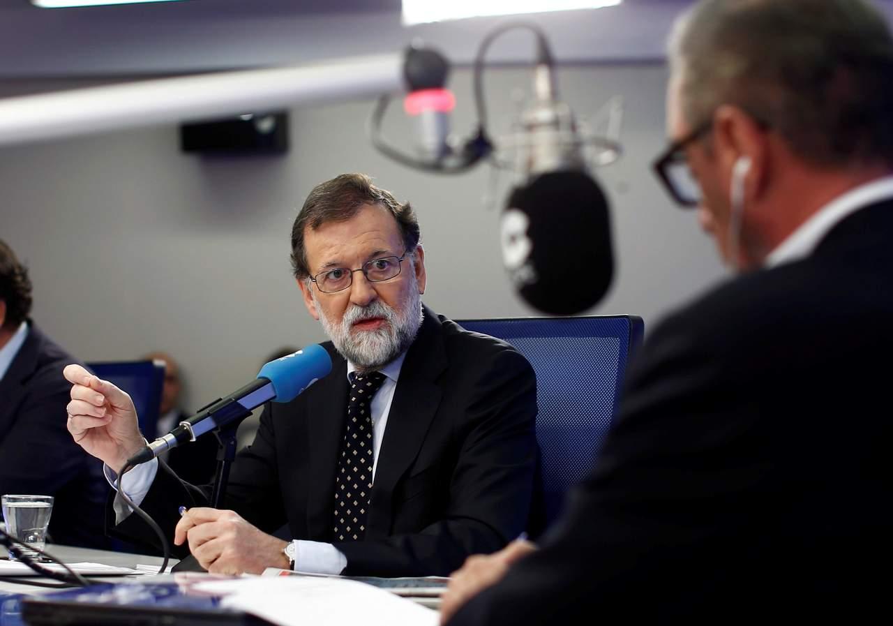 Prevé Rajoy crecimiento del 2.8 o 3% del PIB si Cataluña se normaliza