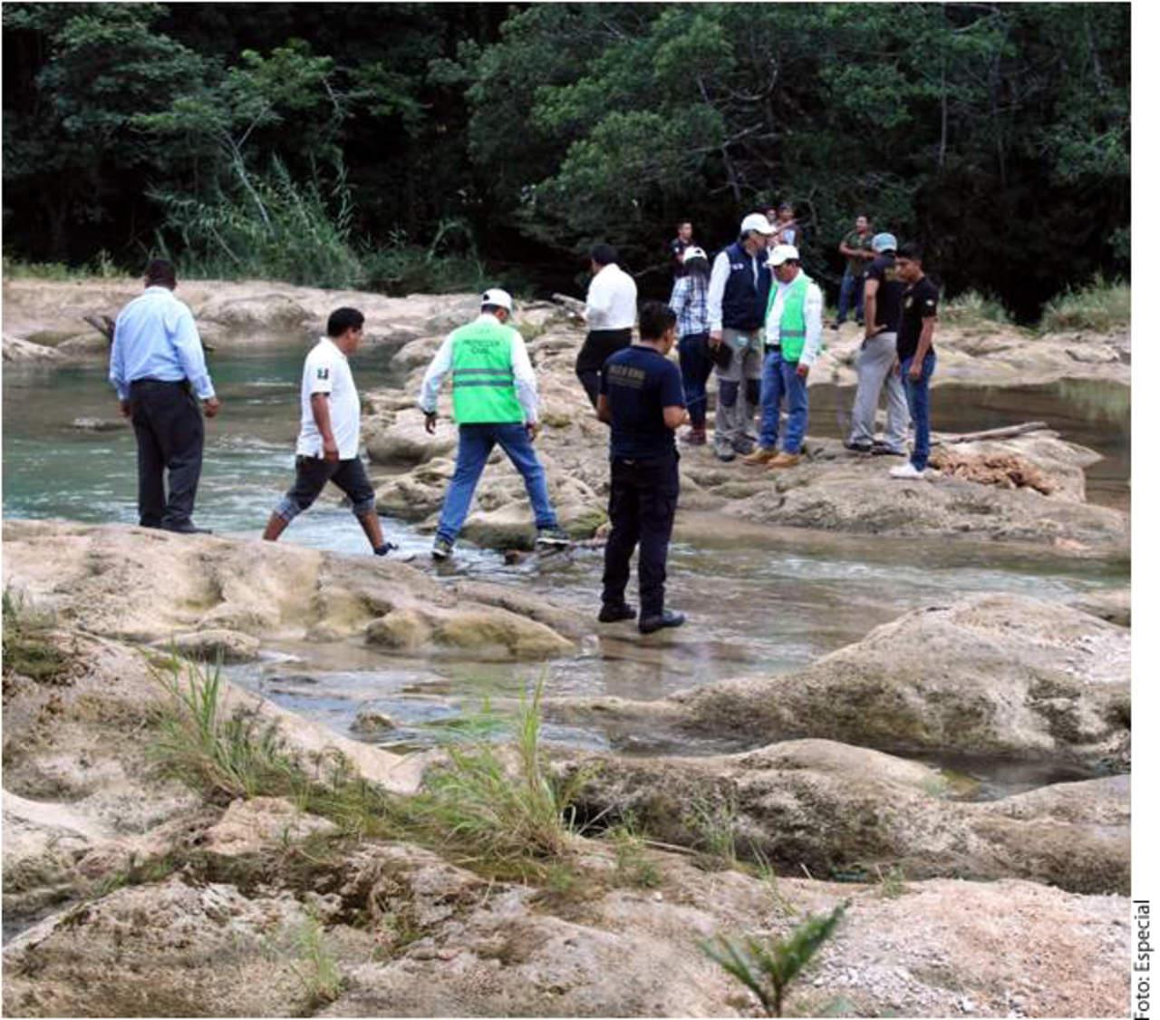 Impactó sismo a cascadas Agua Azul