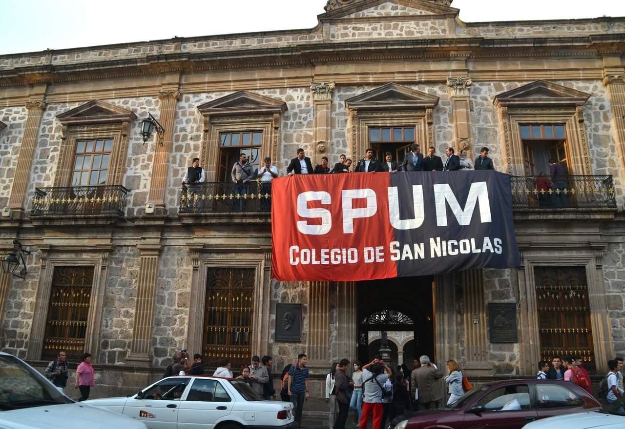 Profesores convocan a huelga ante retraso de pagos en la Universidad Michoacana