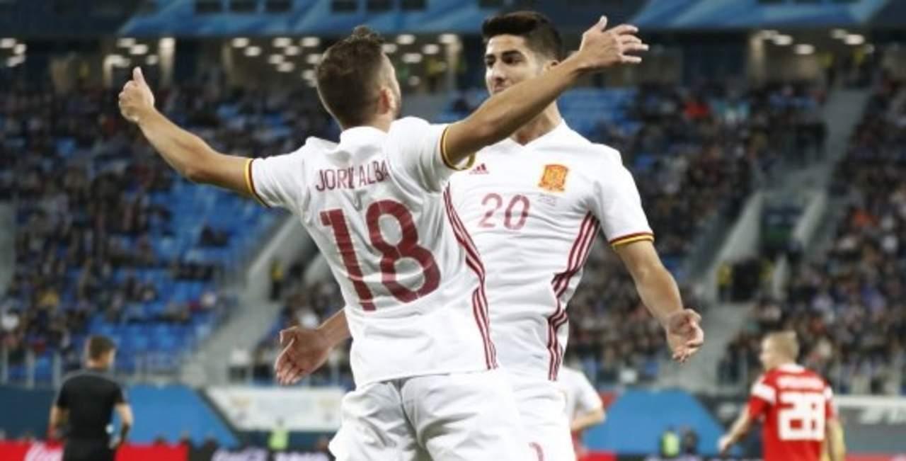 España empata contra Rusia