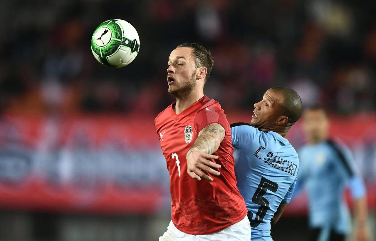 Uruguay derrota a Austria