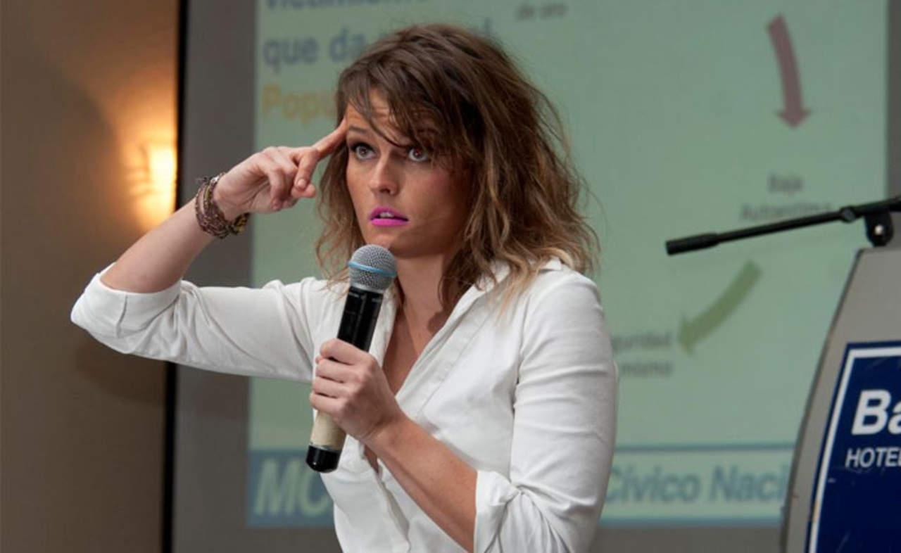 La politóloga Gloria Álvarez ofrecerá dos conferencias en Torreón