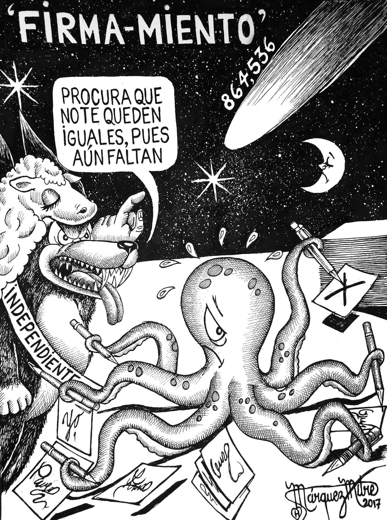 Cartón de Güillermo Márquez