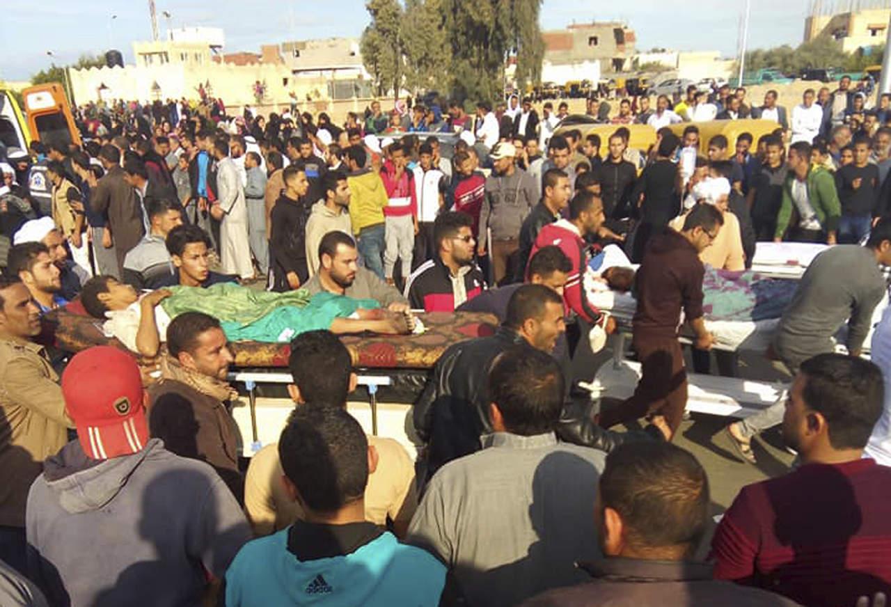 Sube cifra a 270 muertos en el atentado terrorista de Egipto