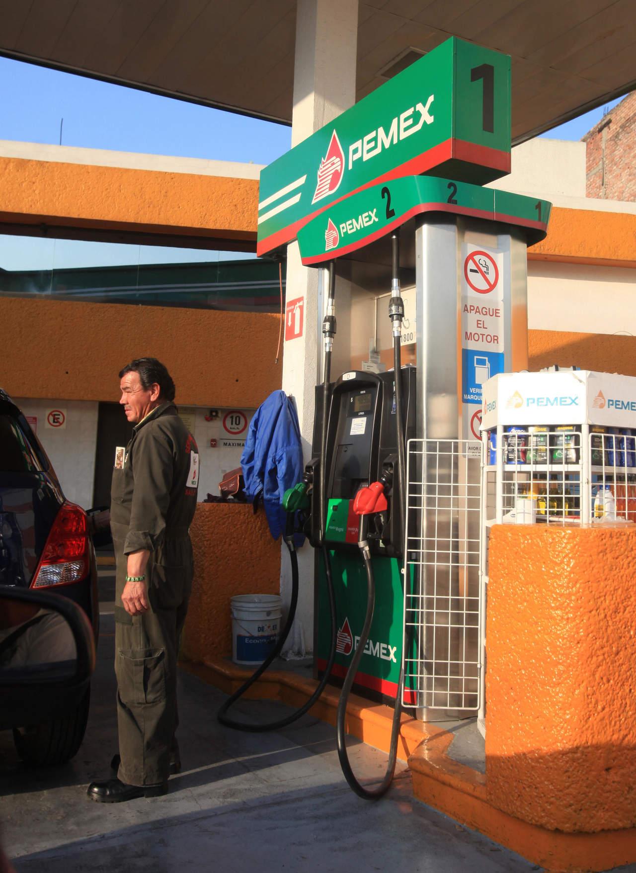 Precios liberados de la gasolina, a partir del 30 de noviembre, en todo el país