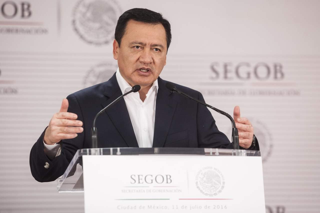 Desea Osorio Chong éxito a Nuño en su nuevo proyecto