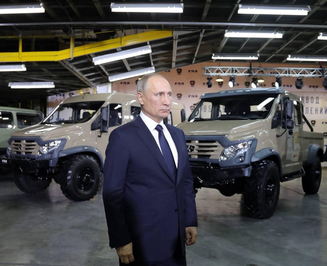 Putin irá a comicios en pos de reelección