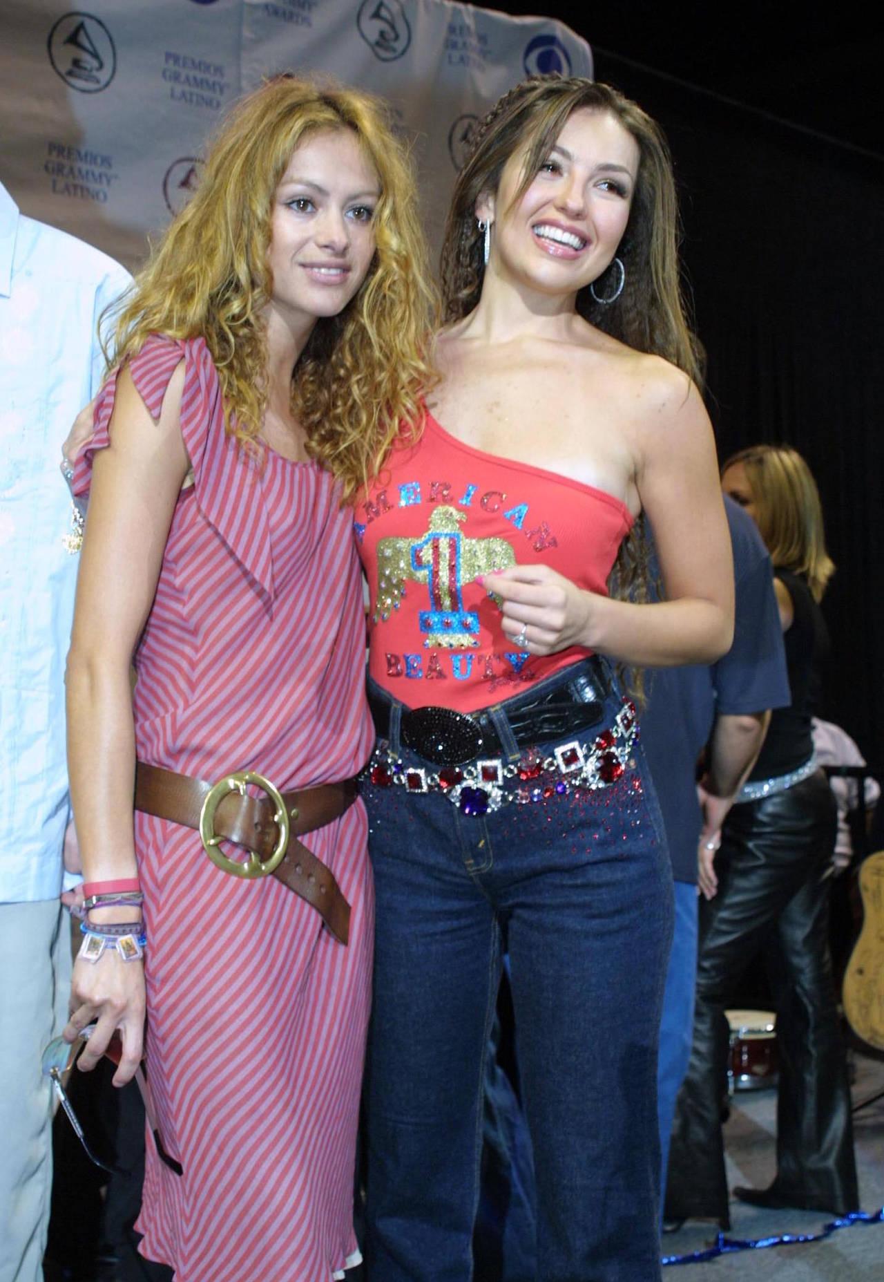 Thalía y Paulina...¿Juntas?