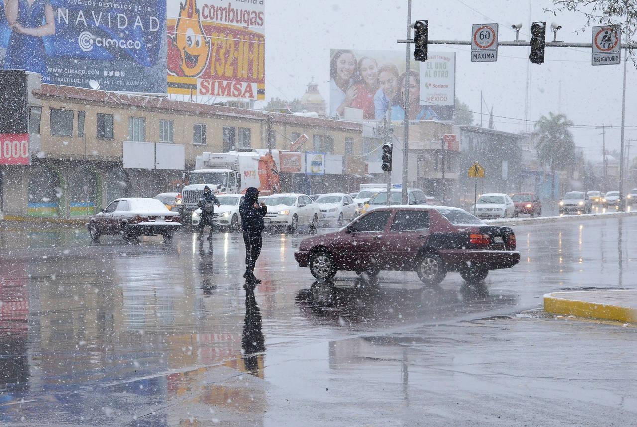 Nevada trae alegría y... caos a la región