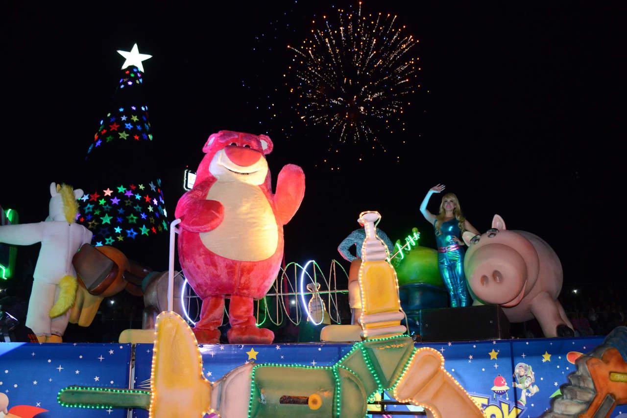 ¿Cuándo será el desfile navideño en Torreón?