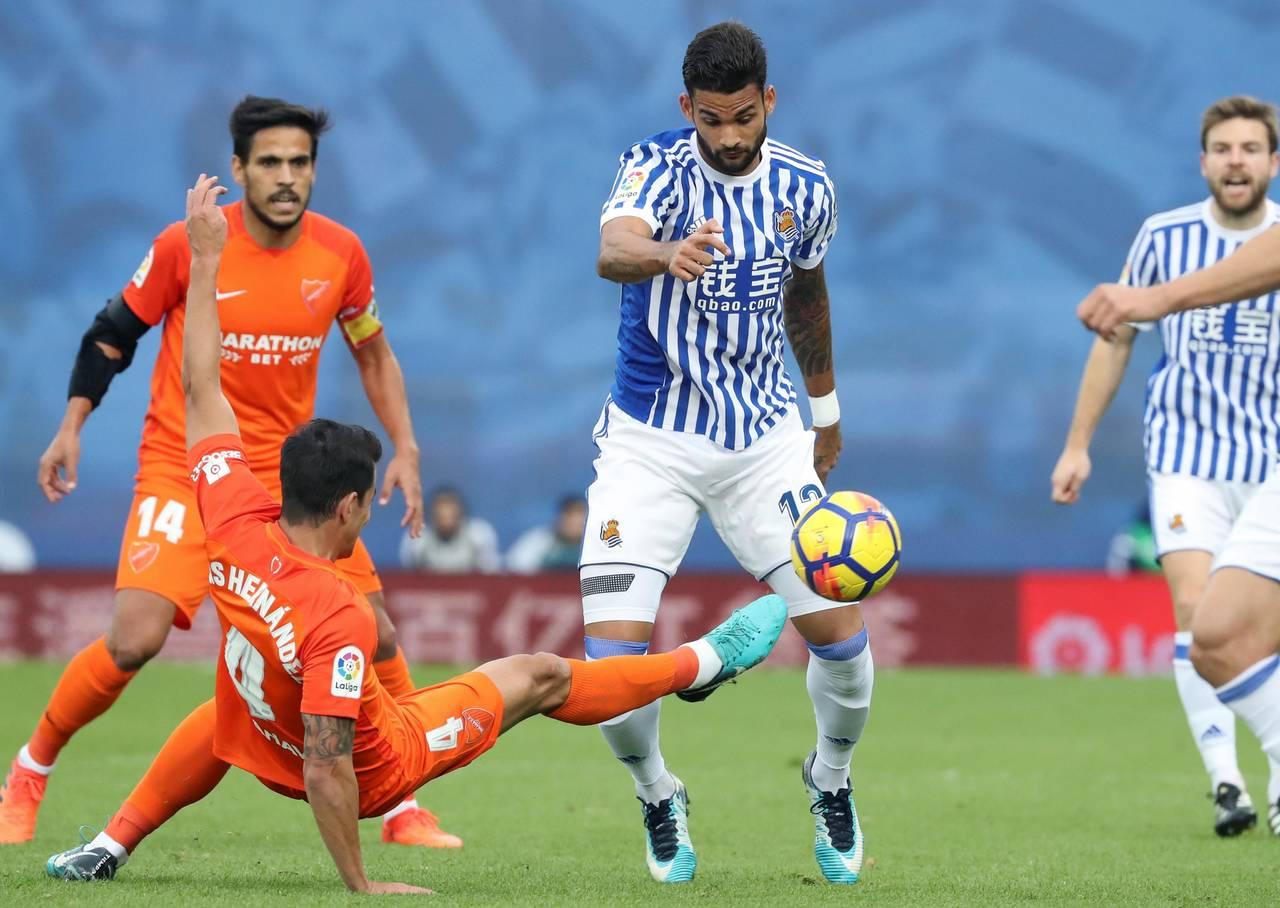 Carlos Vela, ni a la banca en derrota de la Real Sociedad