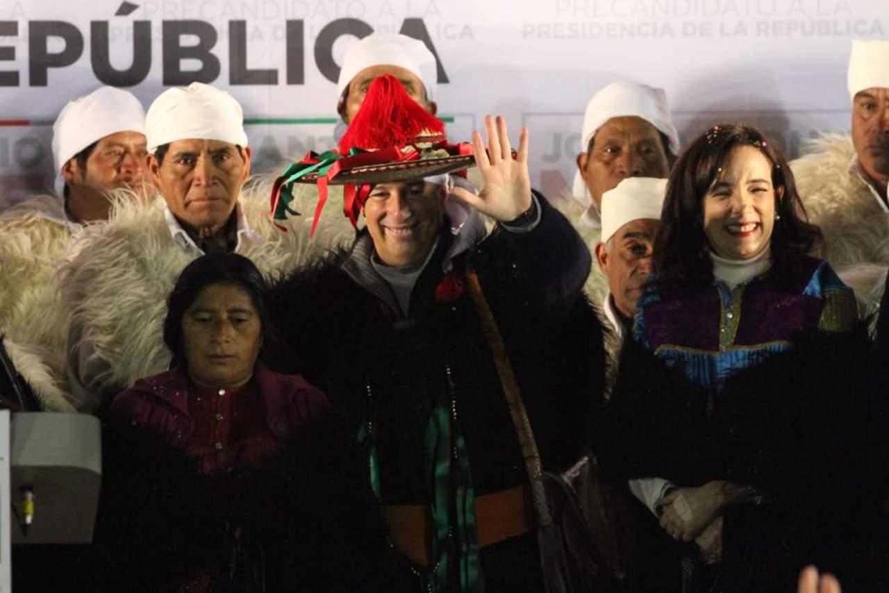 Arranca Meade precampaña en Chiapas