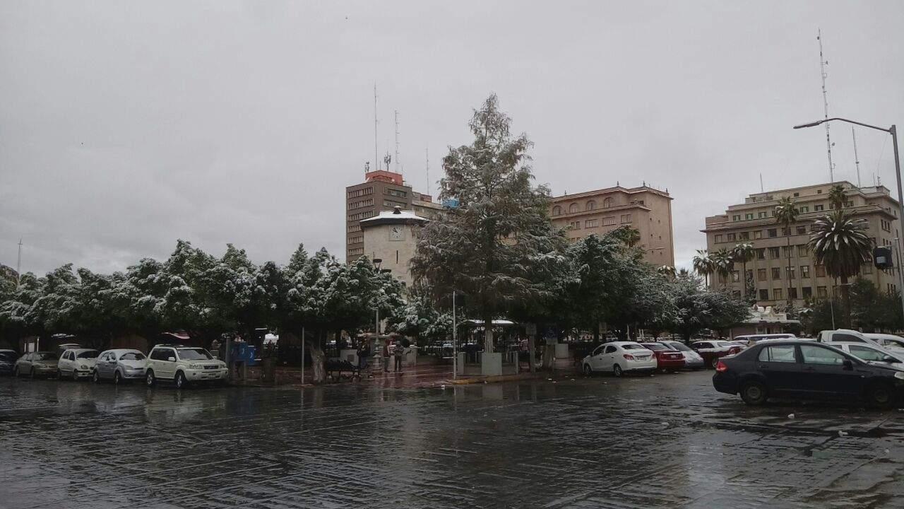 Latente, probabilidad de nieve y aguanieve en la Comarca Lagunera para mañana
