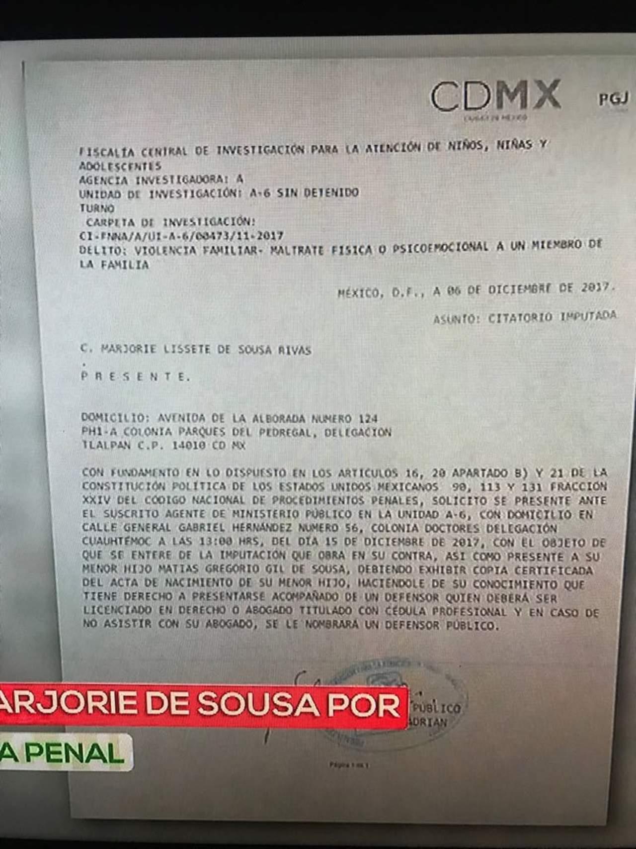 Demanda Julián Gil a Marjorie de Sousa