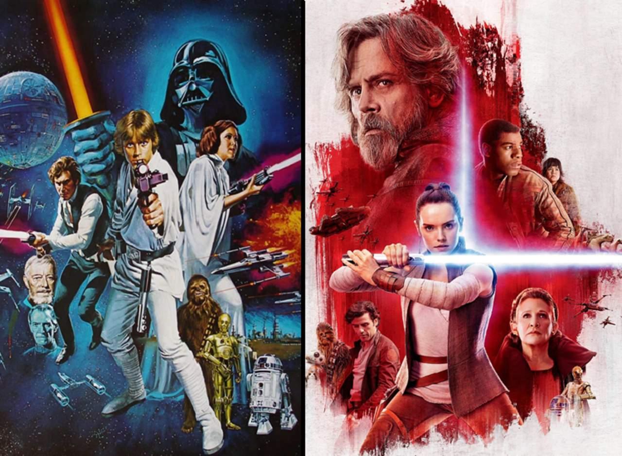 El elenco de Star Wars: ayer y hoy