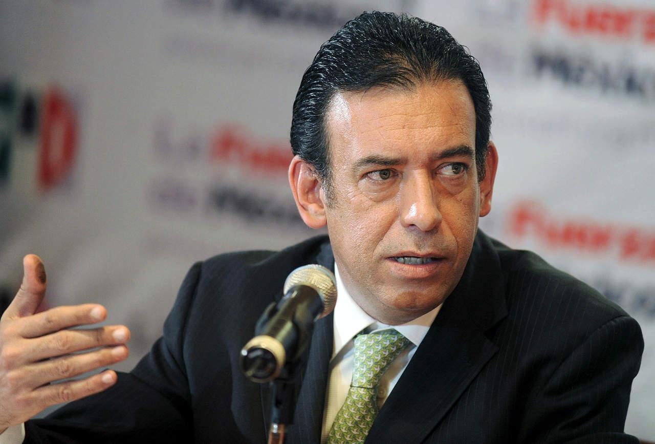 Revocan sanción de pérdida de militancia al PRI para Humberto Moreira