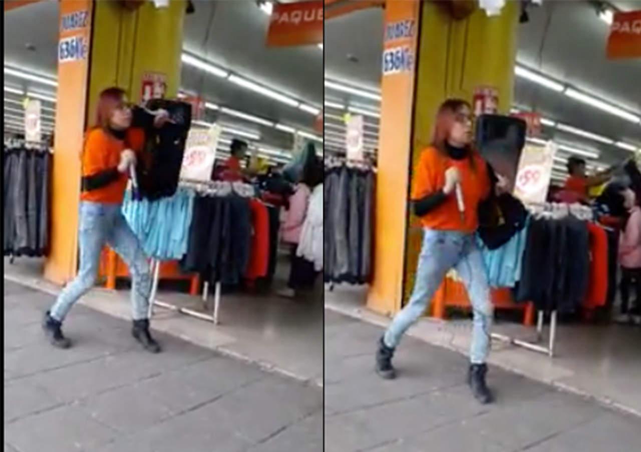Su cómica manera de bailar la hace viral