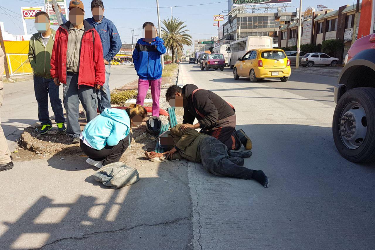 Atropellan a un anciano en Torreón