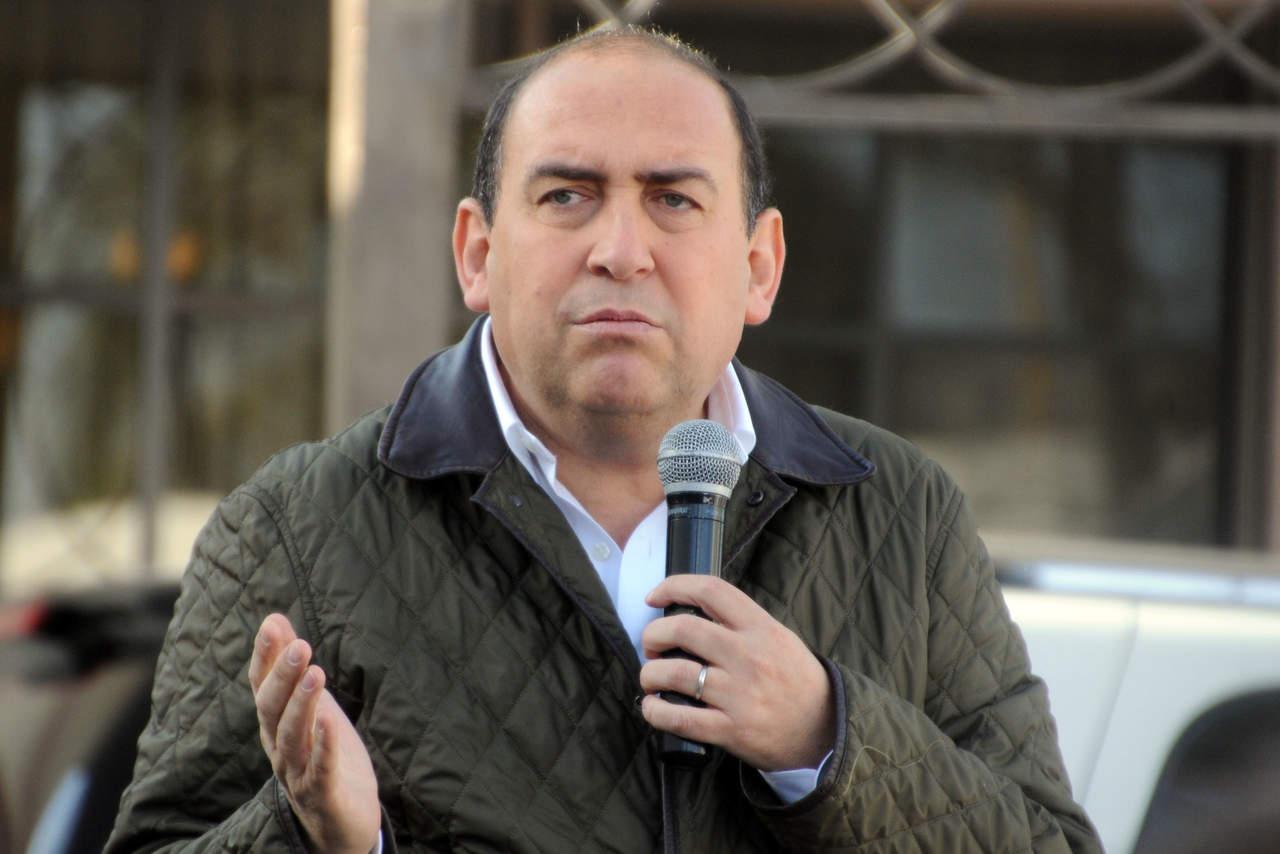 Perfilan a Rubén Moreira como secretario del CEN del PRI