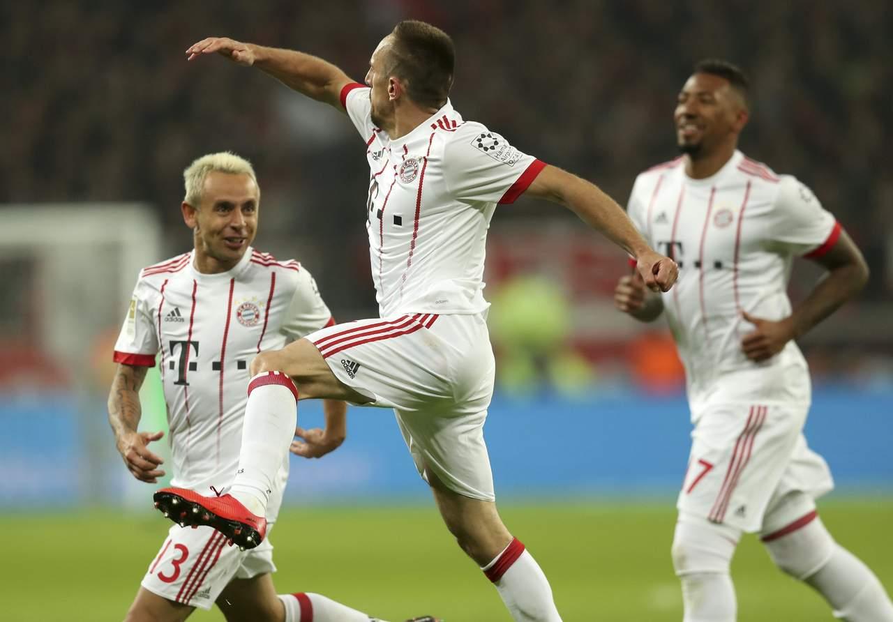 Bayern Munich consigue nueva victoria en la Bundesliga