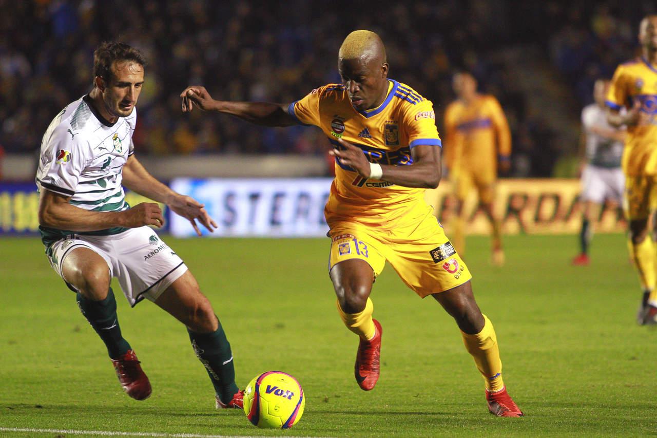 Santos perdona y deja ir el empate ante Tigres